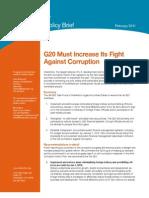 G20 Anti-Corruption Policy BRIEF 2-22-11
