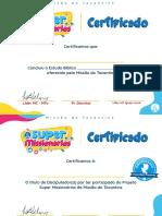 Arquivo Leve - Certificado Super Missionários