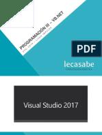 5.Lecasabe ProgramaciónIII VB.net 2017 POO