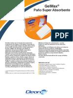 Instrucciones de Uso- GelMax(Paño Super Absorbente)