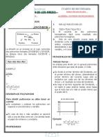 ALGEBRA    DIVISION  DE POLINOMIOS  JULIO