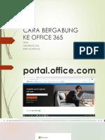 Cara Bergabung Ke Office 365