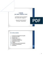 Cours ISO 9001 Version 2015 Partie 1