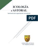 guia de psicologia ministerial