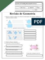 Revisão de Geometria teste