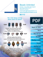 Beads Unlimited Supplement Bc113