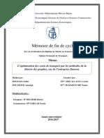L'optimisation des couts de transport par les méthodes de la théorie des graphes.pdf