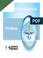 Ap_Programa de Educação Ambiental (PEA) - John Emlio Tatton - Sabesp