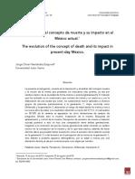La Evolución Del Concepto de Muerte y Su Impacto en El México Actual