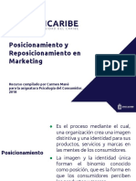 Unidad 2. Recurso 3. Presentación Posicionamiento y Reposicionamiento en Marketing