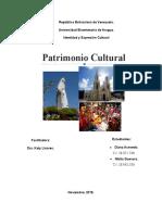 PATRIMONO CULTURAL