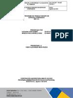 PROGRAMA ESPACIOS CONFINADOS