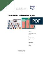 Actividad de Evaluación 3 y 4 de Inglés - Leonel Ortega Medina