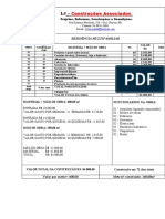 tabela de custo-Obra-
