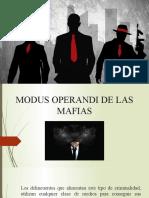 MODUS OPERANDI DE LAS MAFIAS