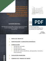 Ejemplo EM Prefactibilidad Software Lecciones Aprendidas
