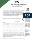 Percepción sobre la migración centroamericana en México