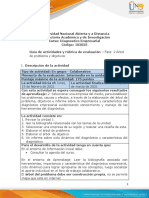 Guia de actividades y Rúbrica de evaluación - unidad 1-Fase 2-Elaborar un árbol de problema y objetivos.