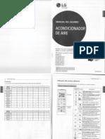 Manuales de Control Remoto Aires Acondicionados
