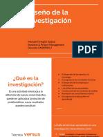 Guía Diseño de Investigación
