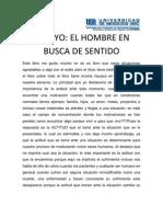 EL HOMBRE EN BUSCA DE SENTIDO