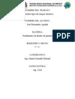 actividad dos estudio preliminares EN PUENTES