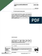 UNI 13369-08 Regole comuni per prodotti prefabbricati di calcestruzzo