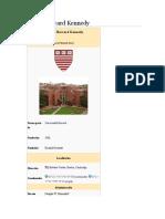 Escuela Harvard Kennedy