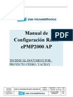 Configuración de Equipos Cambium EPMP1000 YACHAY V3