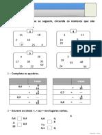 Ficha de revisões I