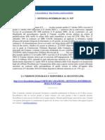 Corte Di Cassazione n 3157 2011