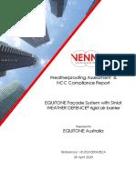 EQUITONE & Rigid Air Barrier - NCC FP1.4 & P2.2.2