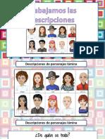 Trabajando Descripciones de Personas PDF