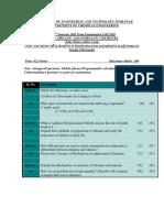 Paper organic and Inorganic Chemistry CE Mid Term Fall 2020_Online exam