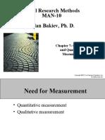 Chapter 07 - Qualitative and Quantitative Measurement - 7e