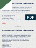 Communication Systems Fundamentals