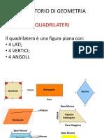 I Quadrilateri