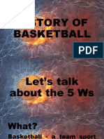 History of Basketball and Equipment