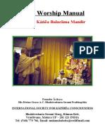 Deity Worship Manual Krsna Balarama