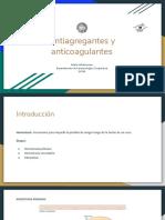Antiagregantes_y_anticoagulantes