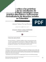 Analisis Critico A Las Practicas Jurídicas De Los Estudiantes