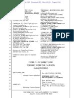21-02-22 Epic Games v. Apple Joint Case Management Statement