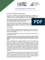 Intervención de Paraguay 55 CSW