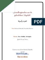 """Grondbeginselen van de geloofsleer """"Aqidah"""" NL"""