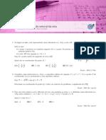 Geometria - Vetores e equação vetorial da reta(10.º ano) - Itens de provas nacionais - Enunciados (mat.absolutamente.net)