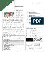 Familienmitglieder Arbeitsblatter Grammatikubungen Leseverstandnis 126457