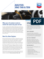 ENGINE OIL ANALYSIS UNDERSTANDING TAN AND TBN 01-28-2019