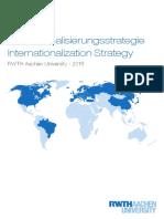 Internationalisierungsstrategie RWTH Aachen 2018