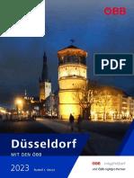 Düsseldorf mit den ÖBB