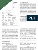 Pew Sheet 27 Feb 2011